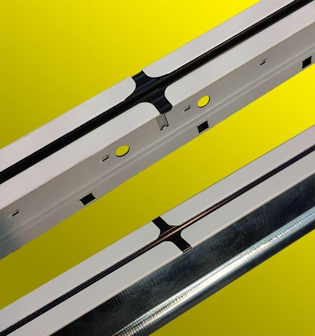 Dallan® | Deco pour la décoration des profilés en ligne: créativité et souplesse pour des faux plafonds nouveaux et concurrentiels