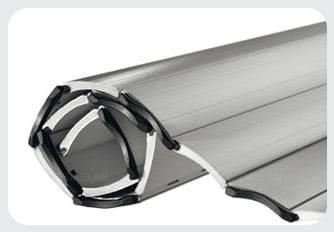 Anwendung: Ausgeschäumtem Aluminium Rolladen