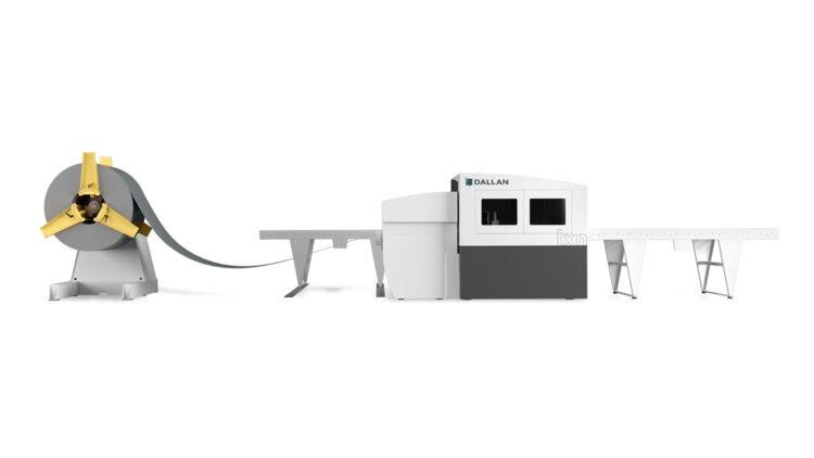 Dallan LXN Laser cutting from coil