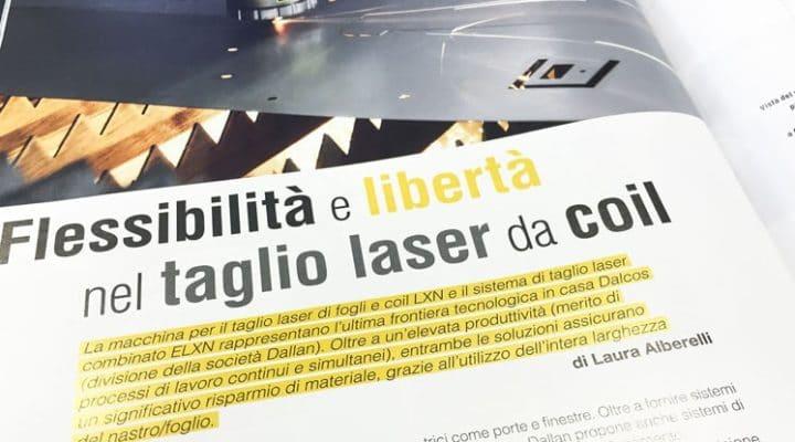 taglio laser flessibile da coil