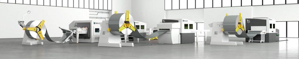 Dallan laser metal cutting machines