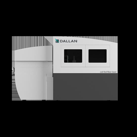 metal laser cutting station