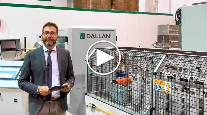 Andrea Dallan introducing D93 roll forming machine