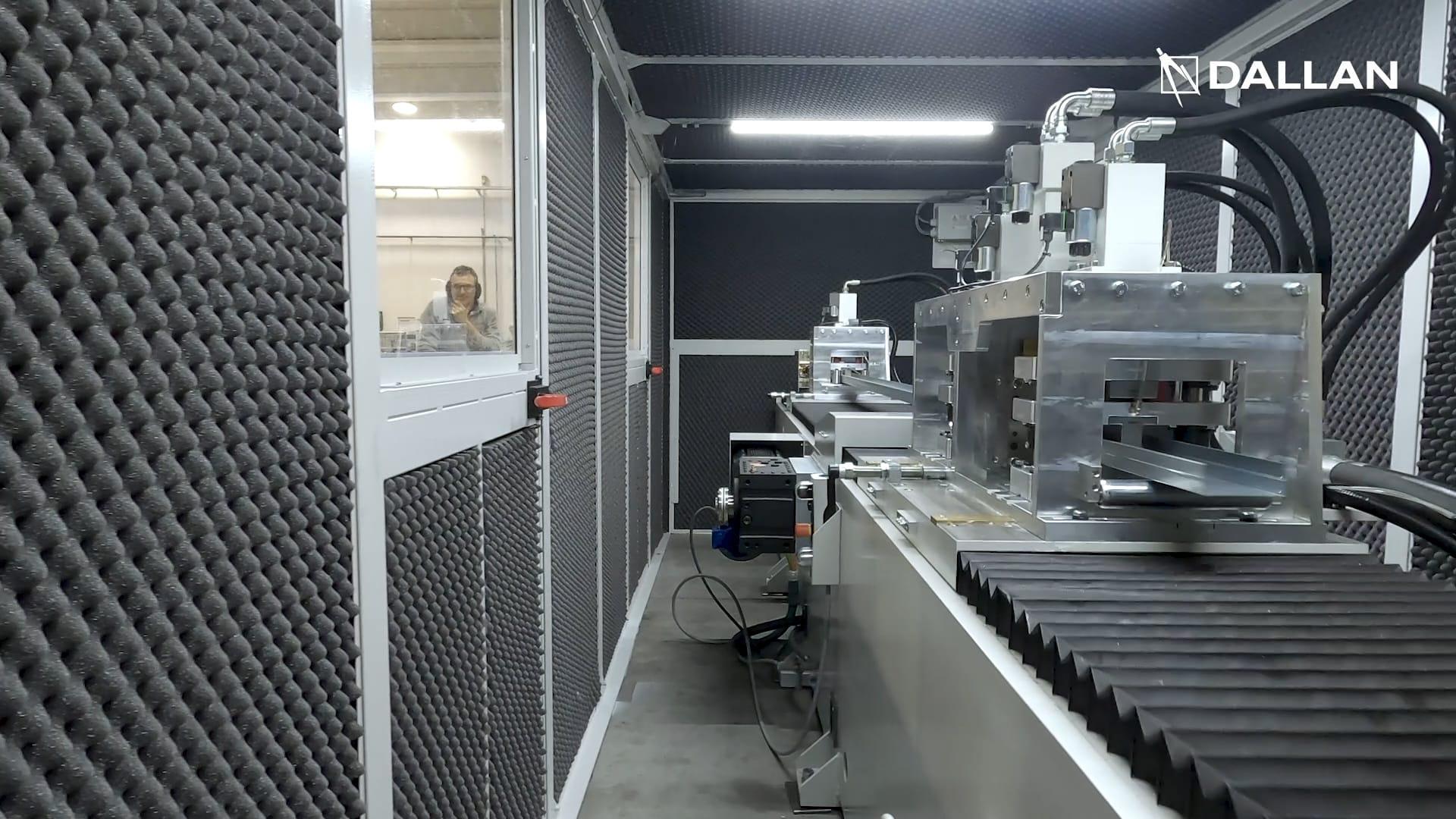 Dallan punching and cutting units