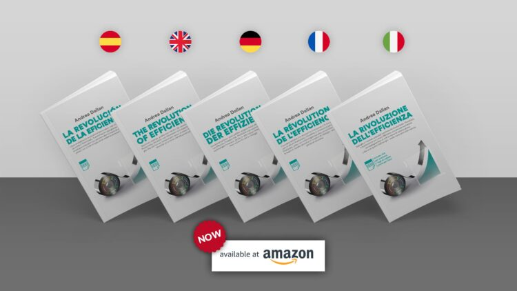 the revolution on efficiency book now available in 5 languages