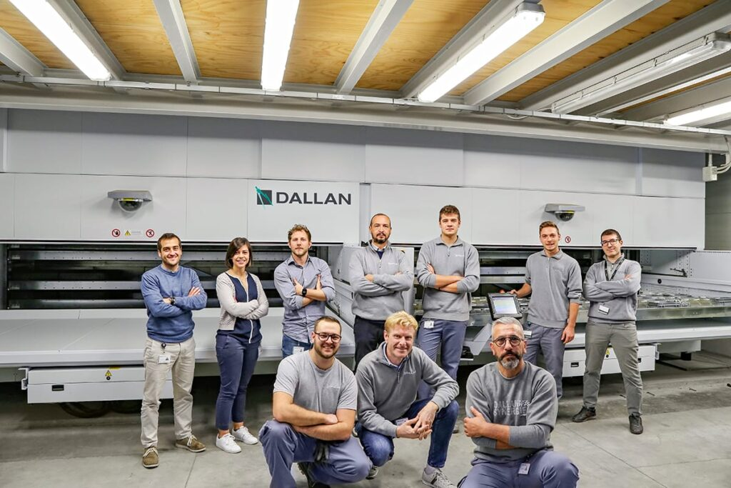 dallan project management and purchase team