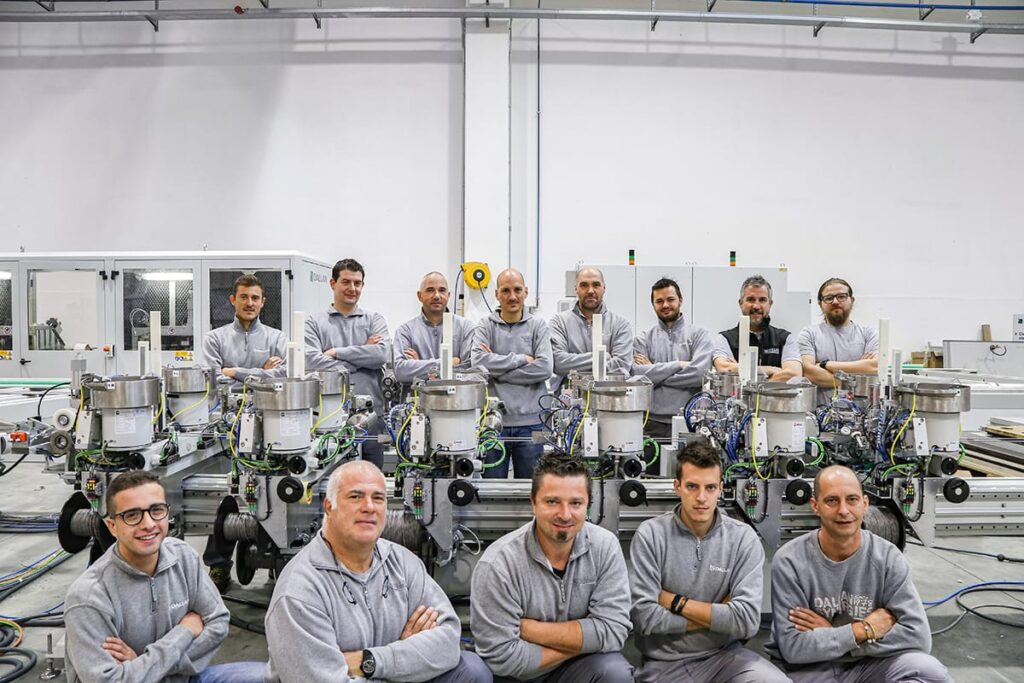 Dallan electrotechnical team