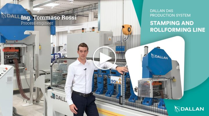 Dallan roll forming and stamping line D4S