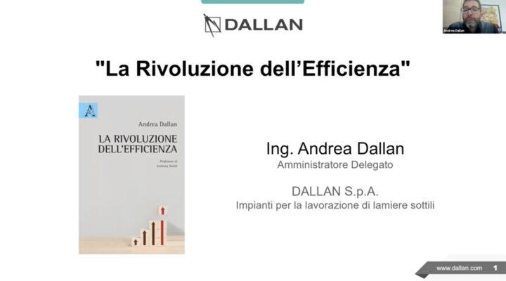 La rivoluzione dell'efficienza di Andrea Dallan all'Università di Padova