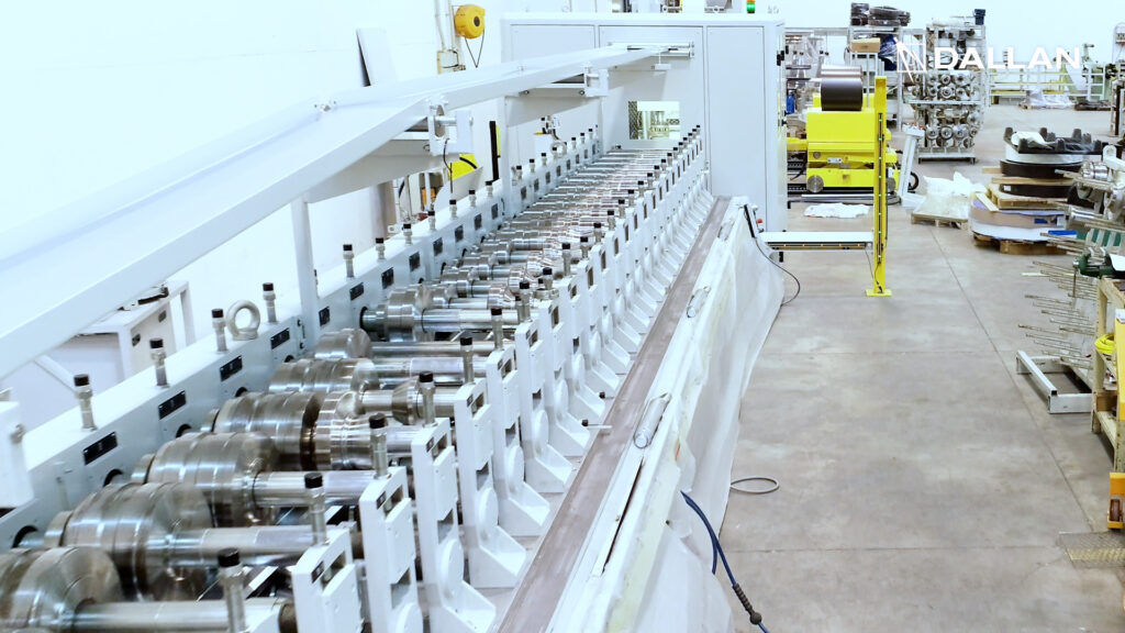 Dallan T5 machine with more than 600 rollers
